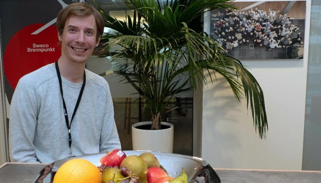 GRØNNING: Øystein Eie engasjerer seg for det han tror på, både i og utenfor bransjen. Nå leder han lokallaget i Framtiden i Våre Hender.
