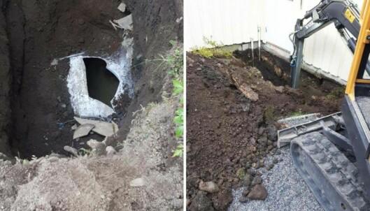 GRAVER: Mange graver mer enn de hadde behøvd fordi bedrifter i bransjen ikke gir riktige råd. (Illustrasjonsfoto)