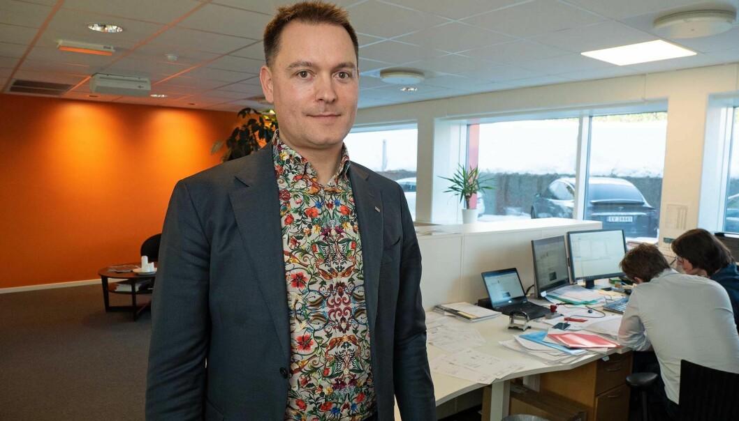 TIL EUROPA: – For oss i Norge er dette veldig positivt og det betyr at vi i tiden som kommer kan tilby våre ansatte å jobbe på enda flere av de største og faglig mest spennende prosjektene, sier Sune Wendelboe, CEO i Moe Norge.