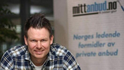 KONTROLL: HÃ¥vard Bungum fremholder at Mittanbud kontrollerer anmeldelser og kaster ut firmaer som jukser. FOTO: MITTANBUD