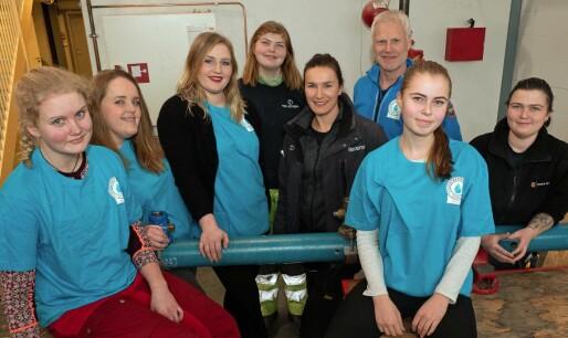 Ti prosent jentelærlinger i Telemark