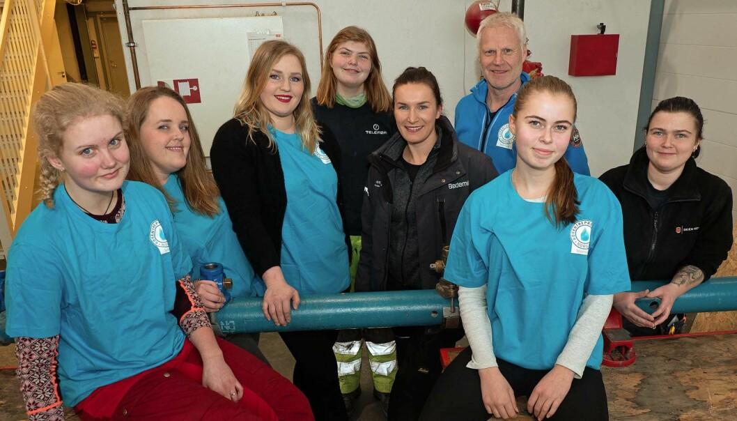 Rørrleggerjenter i Telemark