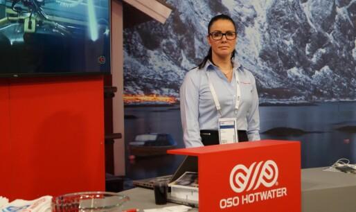 OSO Hotwater - eneste norske ISH-utstiller