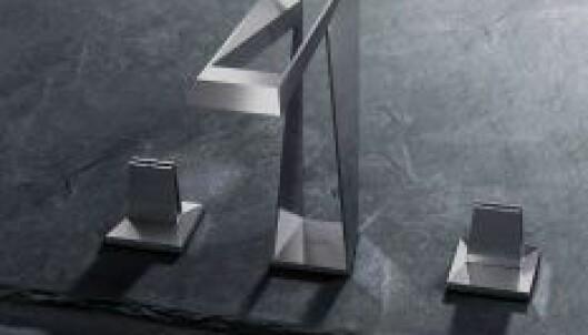 Allure Brilliant Icon 3D er en av de nye 3D-printede løsningene fra Grohe. FOTO: Grohe