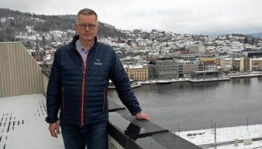 KOMMUNISERER: Asgeir K. Svendsen og Ticon Eiendom lærer av leietakerindeksen hvor viktig det er å kommunisere godt med kundene. Selskapet driver næringseiendommer og bygger boliger i og rundt Drammen.