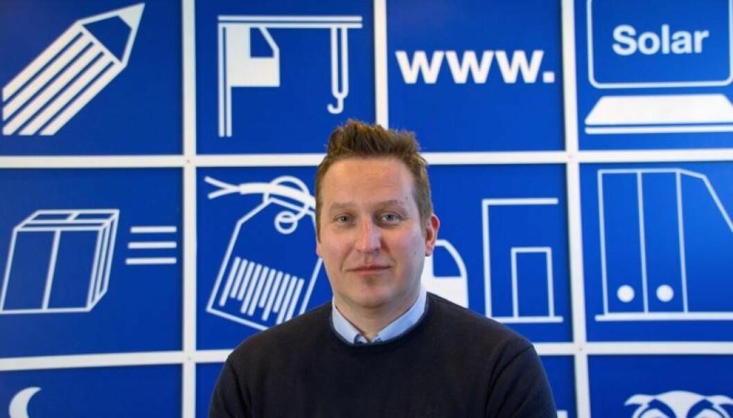 KJEDER KOSTER: Kjedekontorene er for dyre, og rørleggerne taper mot byggevare og fliskjeder, sier Ove Randow hos Solar Norge.