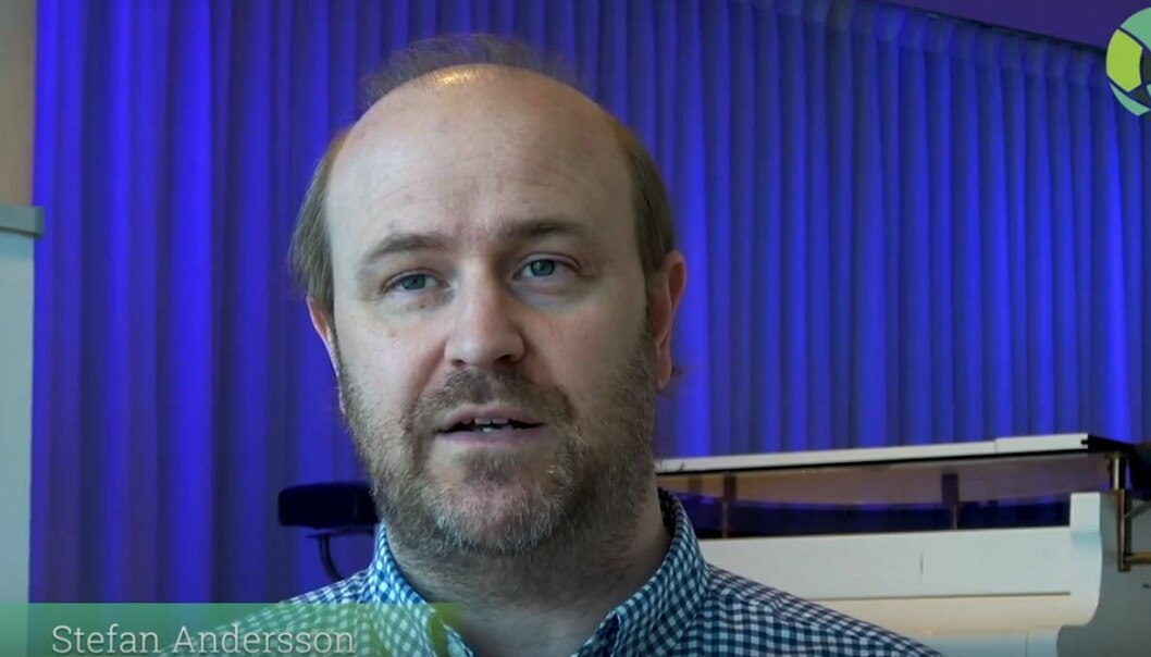 INTERVJU: Stefan Andersson jobber til daglig som FoU leder brannsikkerhet i Norconsult.