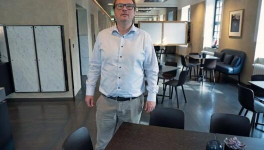 Isak Oksvold har jobben med å få ned energikostnadene hos Møller Eiendom.