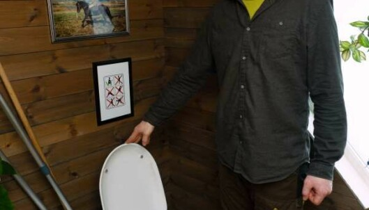 SEPARERER: Toalettet skiller vått og tørt, som så går til hvert sitt bruk.