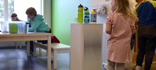 Renere luft ga friskere barn