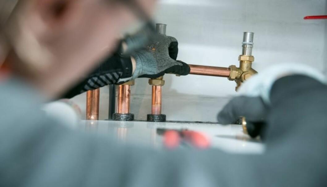 Varmepumper som erstatter oljefyr har økt mest prosentvis i popularitet hittil i år. FOTO: NOVAP