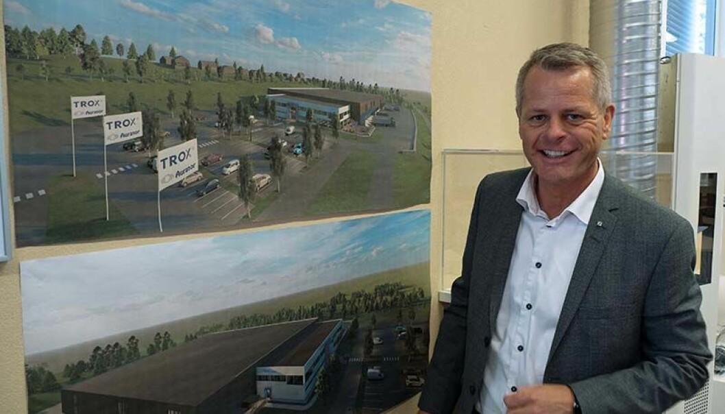 UTVIDER: Mye større lokaler, alt på ett plan og flere produkter. Peter Sønderskov gleder seg til 2020.