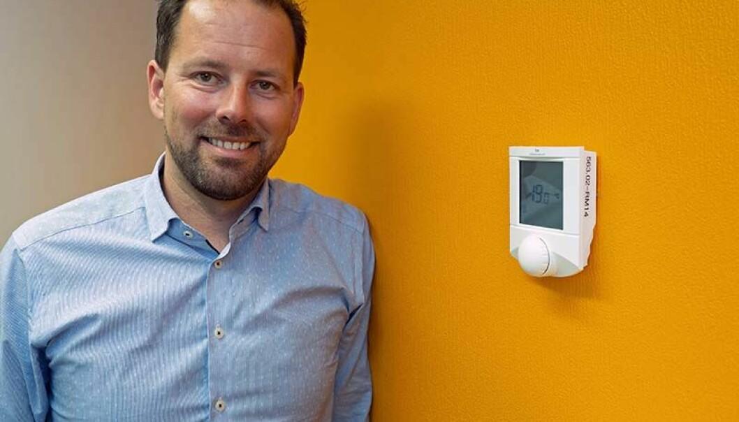 DATAVAKTMESTER: Fra det lille, enkle til det store og kompliserte – Thomas Liland-Vik og KE Automasjon betjener både de største og de minste kundene fra hovedkvarteret på Klepp stasjon på Jæren.