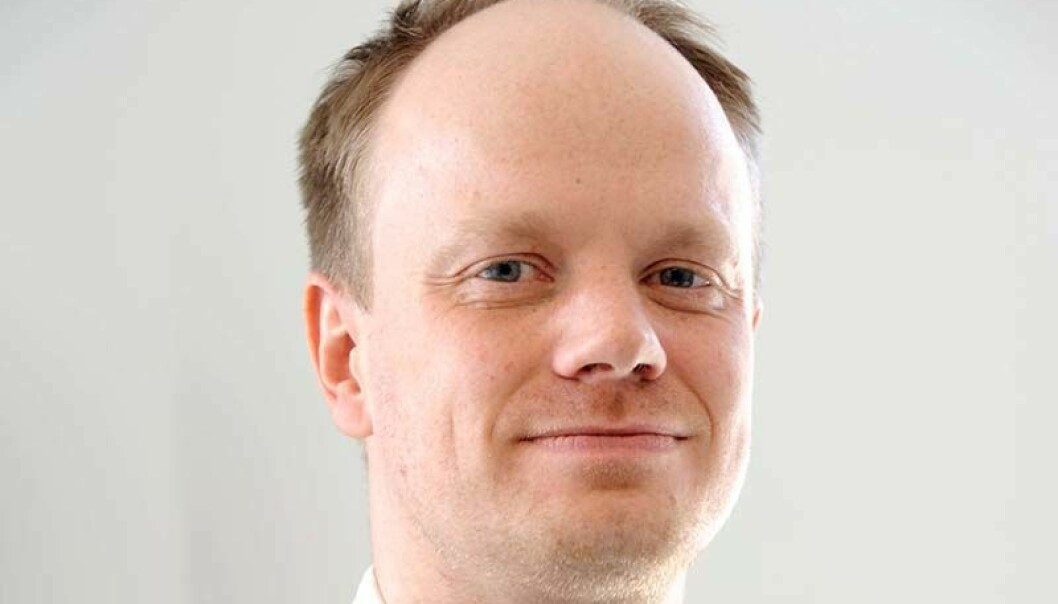 PÅ PLASS: Johannes Fjell Hojem er på plass i Nobio.
