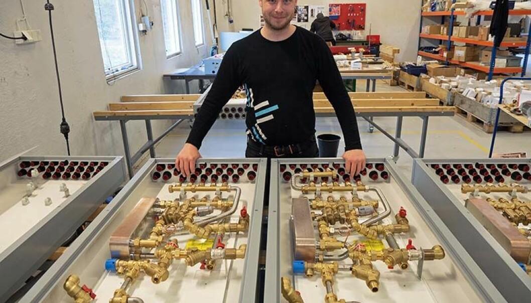 SKREDDERSYDD: Du bestemmer selv hvor store skapene skal være og hvilke produkter som blir brukt i dem, forteller Geir Henning Apeland.