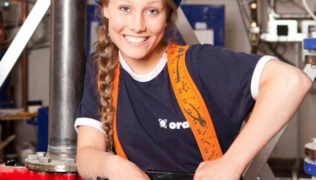 Elise Emmely Svang Jansen (26) fra Nordre Aker i Oslo skal være med på live stream 29.mai i regi av prosjektet Jenter og teknologi.