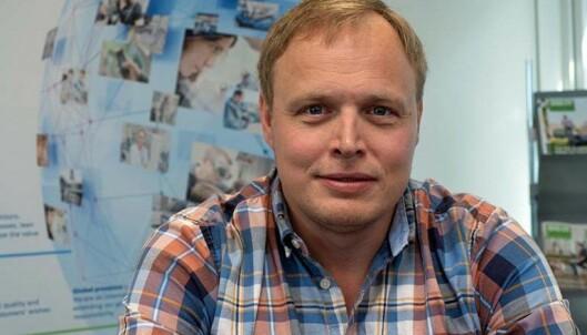 KURS: Salgs- og markedssjef Kristian Bakkeng i Bosch Termoteknikk ønsker seg flere på kurs.
