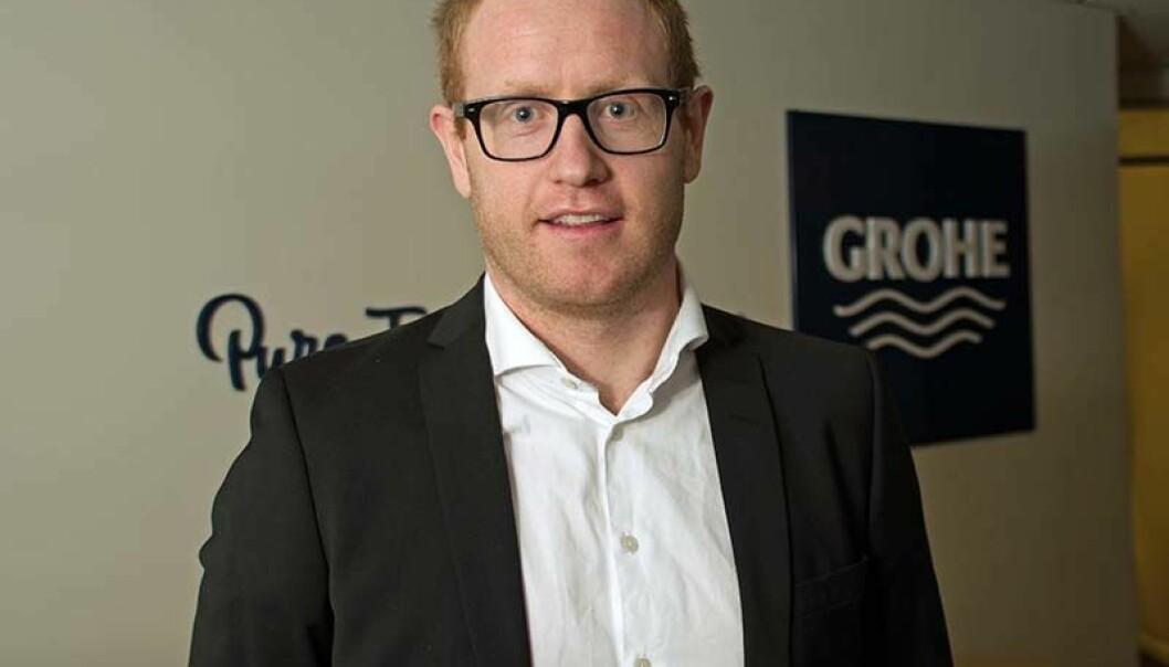 LITE STØY: Grohe-sjef Ole-Christian Mork mener at støyen etter Megaflis-debatten har stilnet.