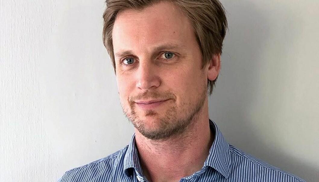 KLAR: Stian Orvedal er ansatt som ny administrerende direktør i GK Rør AS. Foto: GK.