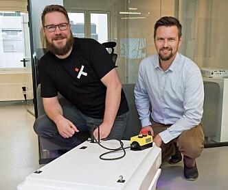 Roboten skal 3D-skanne byggeplassen