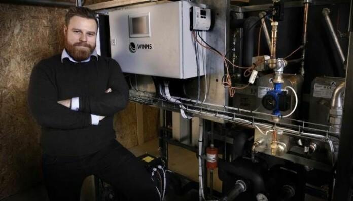 VOKSER: Winns lager og selger varmepumper med CO₂ som medium, til leilighetsbygg, skoler, kontorbygg og næringsmiddelindustri.