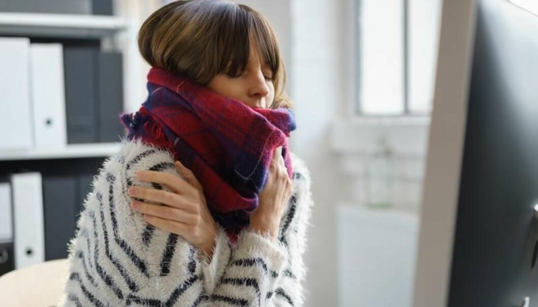 Kvinner presterer best når de ikke fryser. Bilde fra Shutterstock.