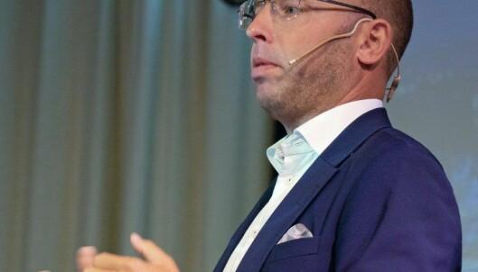 STOLTE: Kollegene til R8-sjef Emil Eriksrød er stolte over å få arbeide i nybygget.