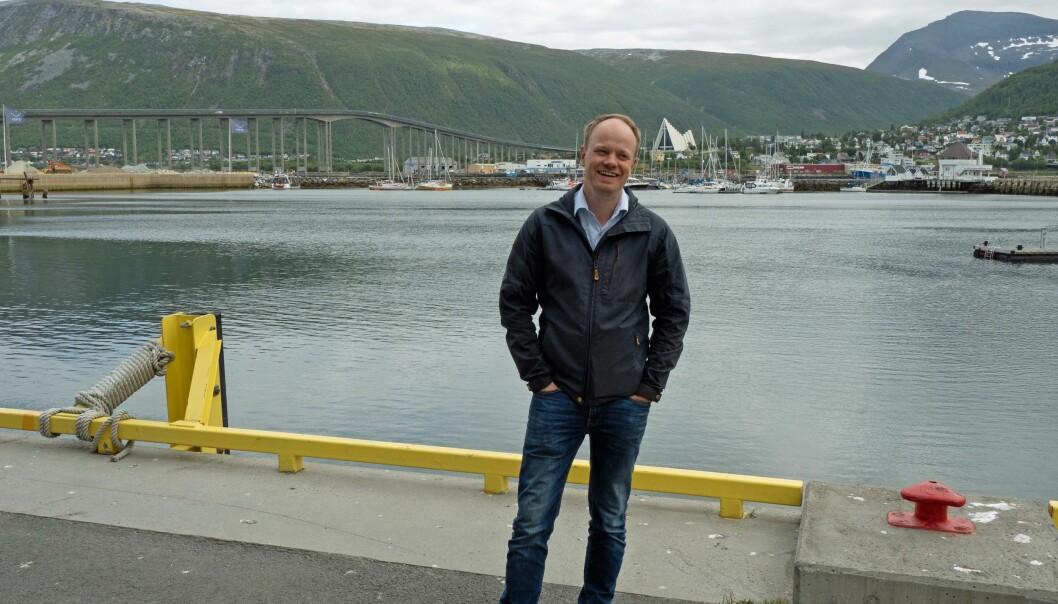 SPÅR: Norsk Bioenergiforening skal kjempe for rammevilkårene til bransjen, men også hjelpe til med å se inn i krystallkulen og spå om fremtiden. Johannes Fjell Hojem er i gang som daglig leder med kontor i Tromsø.