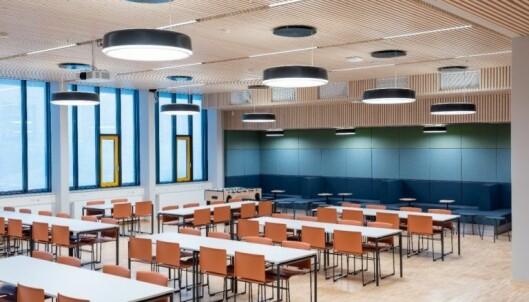 Aula i Nordseter skole. Foto: Undervisningsbygg/Finn Ståle Feldberg