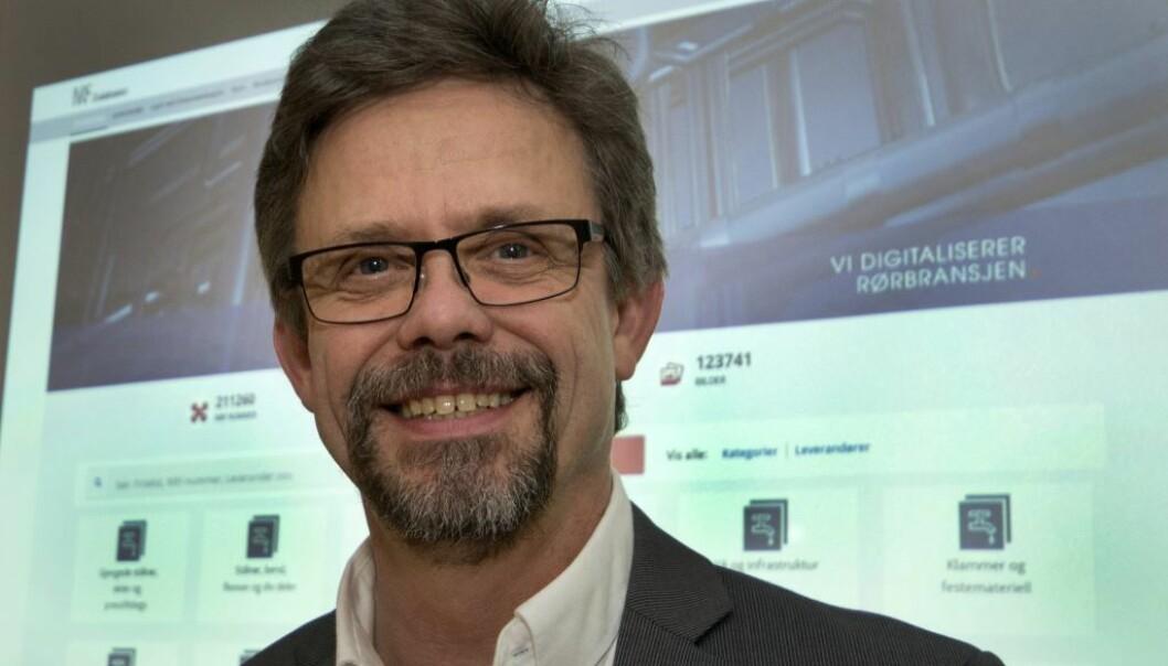 Terje Røising, daglig leder i Norske Rørgrossisters Forening (NRF) er enig med Rolf Tveter og VVS Norge. Arkivfoto.