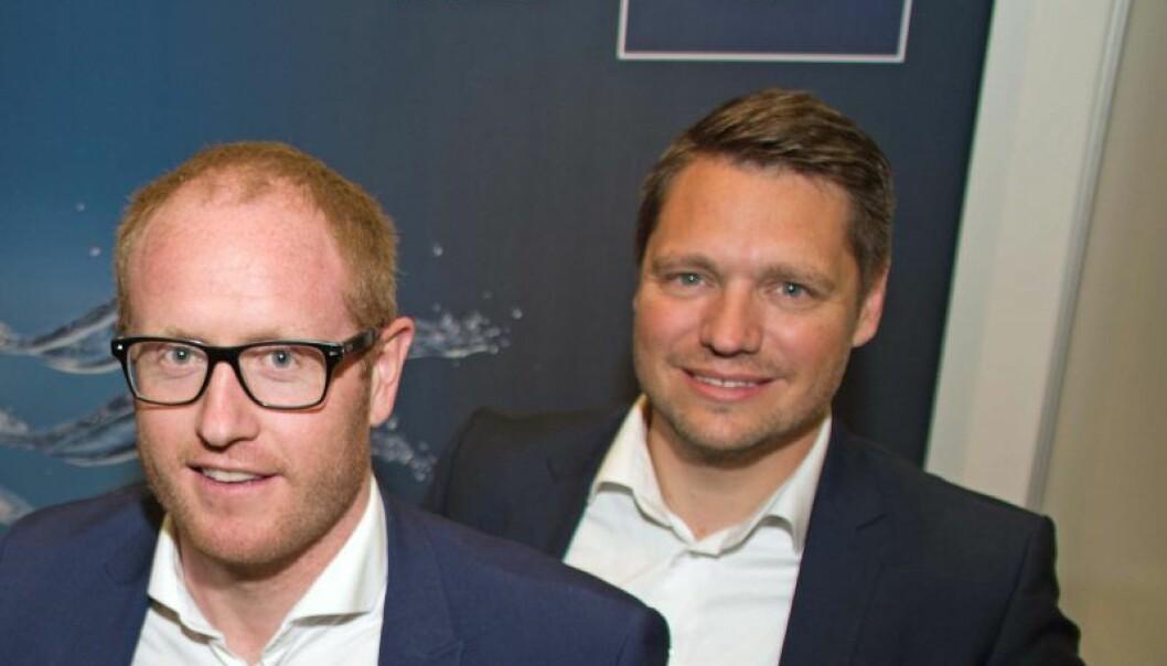 SLUTTER: Peter Juul (til høyre) er lei seg for å miste Ole Christian Mork, men skjønner godt at han ikke kunne si nei til en slik mulighet som den nye jobben i skihallen Snø. ARKIVFOTO