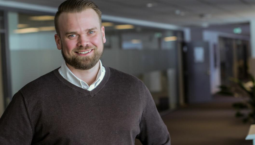 Øystein Engebretsen, Produktsjef for xComfort i Eaton Norge. Foto: Eaton