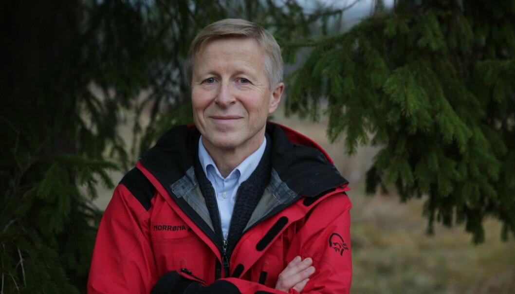 Per Skorge, Administrerende direktør i Norges Skogeierforbund. Foto: Gina Aakre