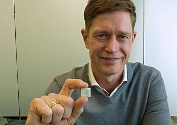 INNLEDER: Ole Petter Novsett står bak verdens minste sensorer og kommer på internasjonal konferanse i Bergen.