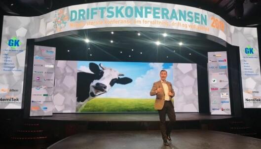 """""""Å tenke er noe av det vanskeligste mennesker gjør, det er derfor sÃ¥ mange unngÃ¥r det"""", sa Thomas Erikson spøkefult under konferansen."""