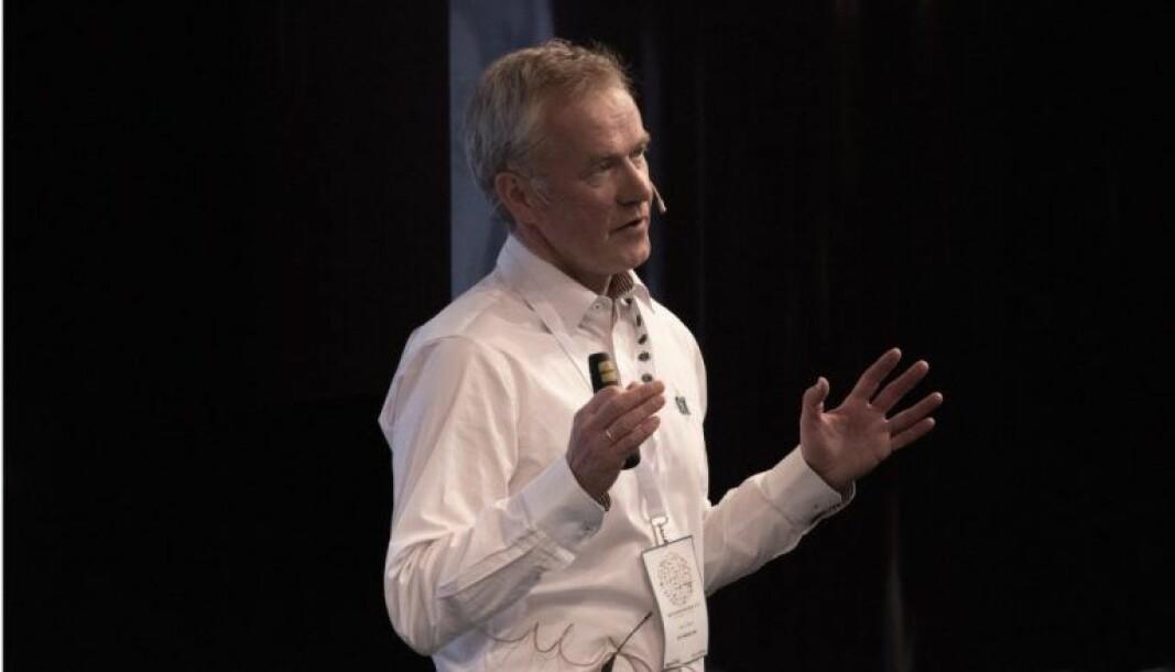 Fagdirektør Mads Mysen holder kurs i velfungerende behovsstyrt ventilasjon.
