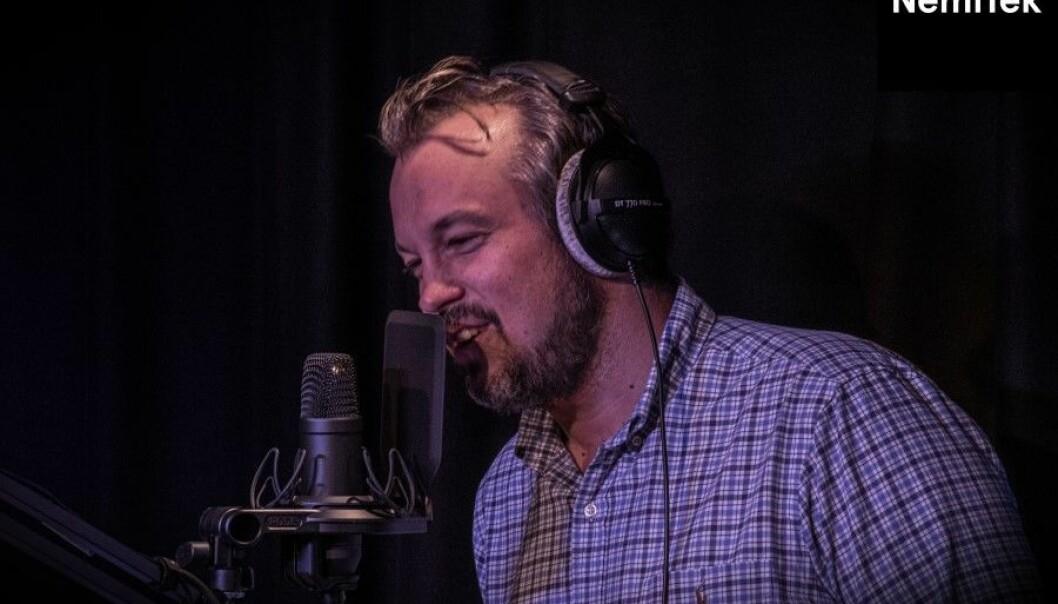Thomas Fransrud, sjef for aktivitet og kompetanse i NemiTek er programleder i den nye podcasten NemiNerd. Foto: Casper Rodvelt