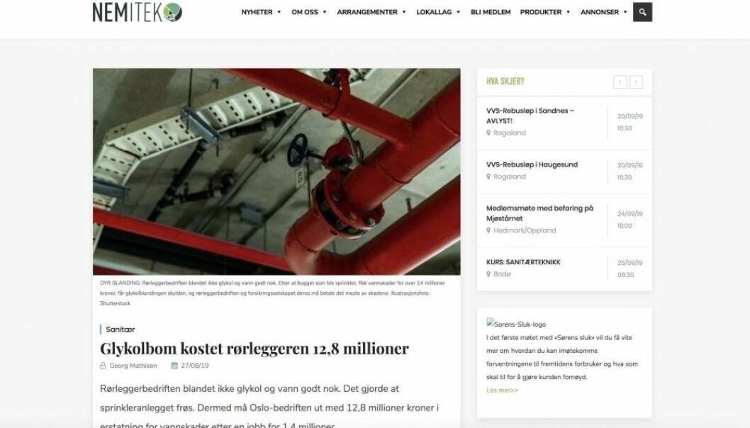 ANKES: Vannskadene på Ullevål sykehus havner i Borgarting lagmannsrett.