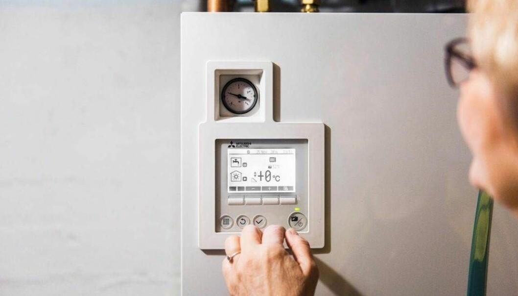 SKRUR PÅ BOLIGSTØTTEN: Fra 1.april er det ikke lenger mulig å få støtte fra Enova for å installere luft-vann-varmepumper og avtrekksvarmepumper. Foto: Enova