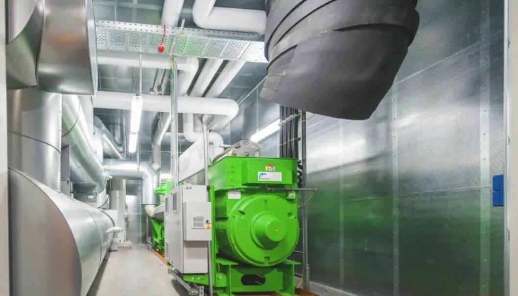 Grohe har investert i kombinert varme- og energikraftverk som en del av merkets dedikasjon til deres bærekraftige utvikling.