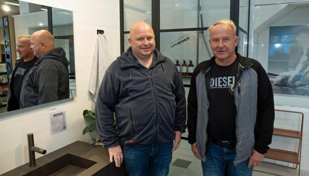 Christian Sirnes har overtatt ledelsen i familiebedriften etter faren Geir.