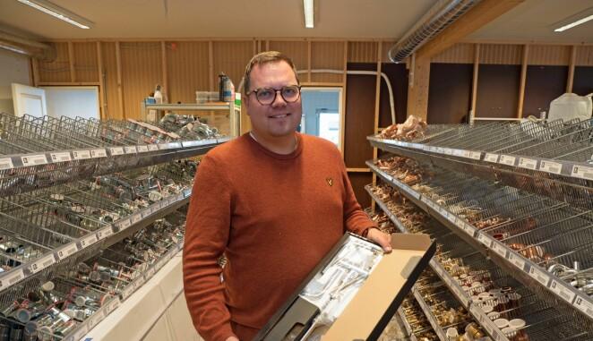 BEVISSTE: De leverer til kjøkken og bad på de påkostede hyttene i Hafjell og Kvitfjell. Jørgen Forreløkken forteller om bevisste kunder som er villige til å betale det det koster.