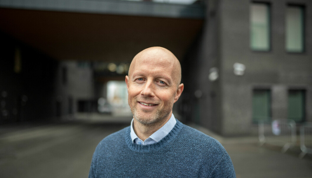 Jonny Ødegård blir prosjekt- og markedssjef for Vann i COWI. Foto: Kristoffer Jakobsen/COWI