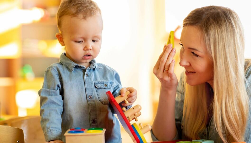 INNELUFT: Svanemerkede barnehager inneholder mindre av helsefarlige kjemikalier, ifølge en svensk doktoravhandling.