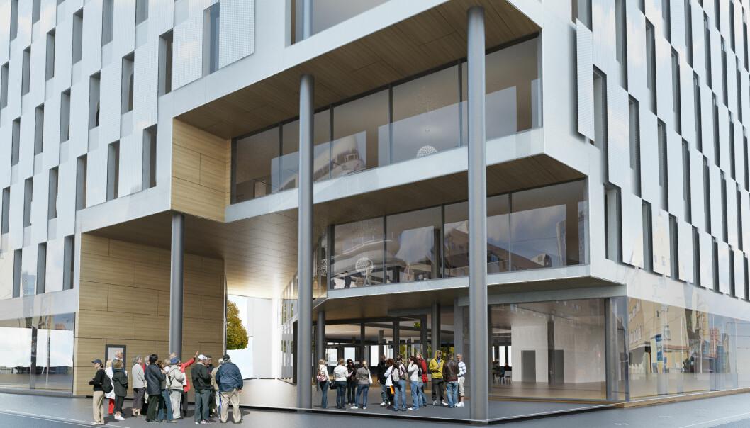 BRUKER FOR MYE: I Schweigaards gate 16 i Oslo prøver SD-anlegget å lære selv, men fremdeles bruker bygget for mye energi.