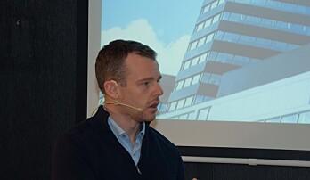 PRISVINNER: Lars Kverne og Entra fikk prisen som årets grønne driftsteam i fjor og forteller om erfaringene. I år ble ikke prisen utdelt.