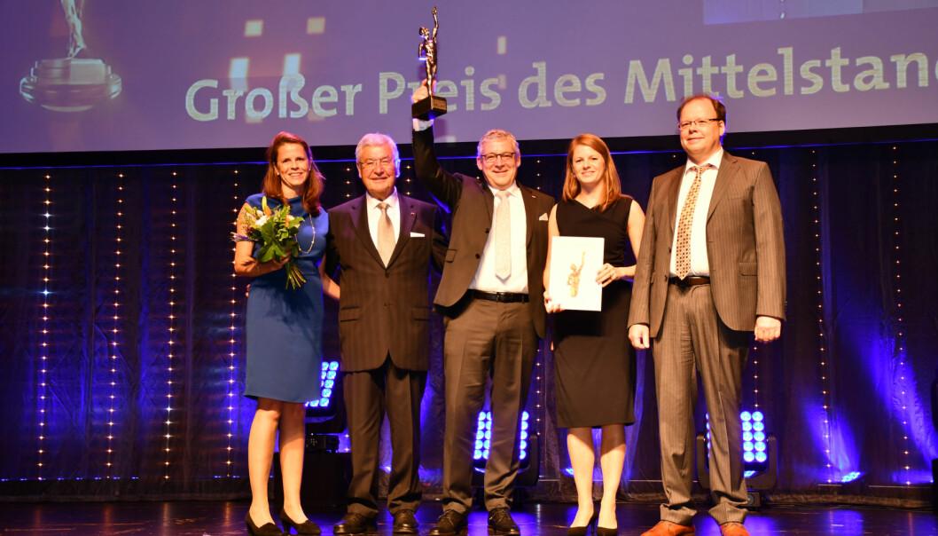 HELT ROTH: Tyskeide Roth Industries til topps i tysk næringslivskåring.