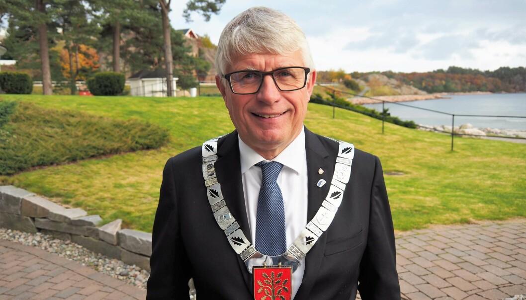 SATSER: Rørleggermester Arne Thomassen ble valgt til fylkesordfører etter valgløfter om å satse på yrkesfagene.
