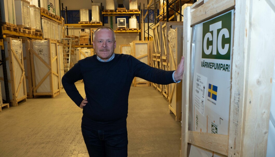 UTVALG: På fabrikken og lageret på Årnes har Magnus Lövkvist og CTC de alternativene som kunden ønsker.