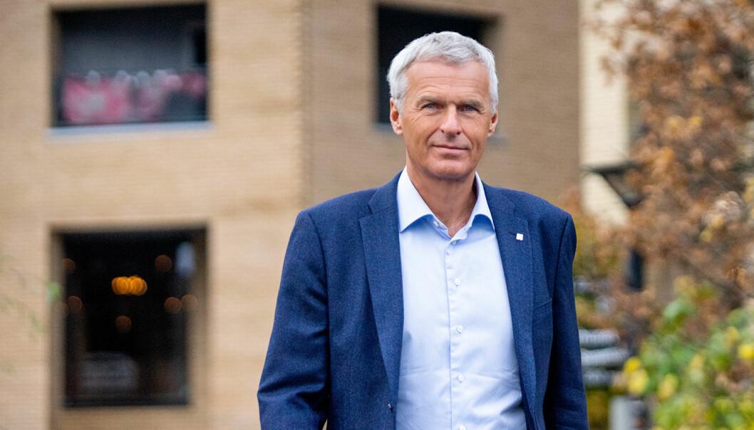 GIR SEG: Konsernsjef Per Kristian Jacobsen i Norconsult fratrer ved slutten av 2020.